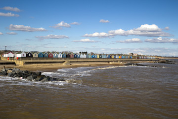 Southwold Sea Front, Suffolk, England