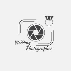 Vector of photography logo template