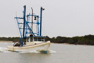 texas scrimping boat