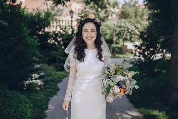 bride with the crown