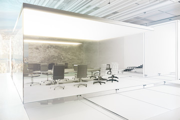 Unfinished meeting room project
