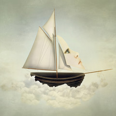 Foto op Canvas Surrealisme Surreal Vessel