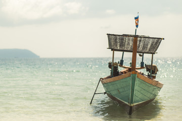 cambodian fisherboat