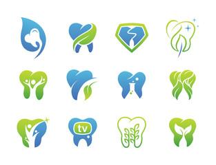 12 Fresh Dental Logo Collection