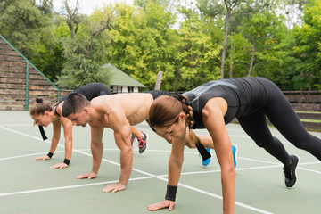 Group exercising