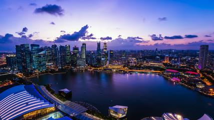 シンガポールの摩天楼