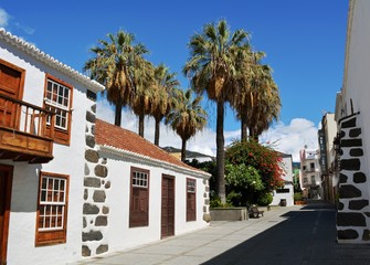 Los Llanos de Aridane, city on Island La Palma, Canary Islands, Spain.