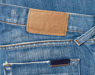 jeans label clothing tag