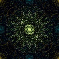 Gothic seamless pattern.