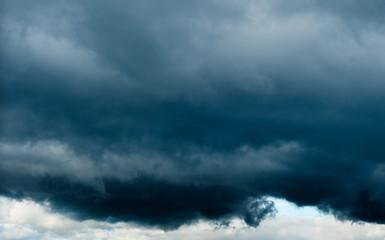 huge black cloud