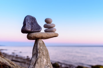Well-balanced of stones
