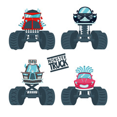 Monster Truck Set