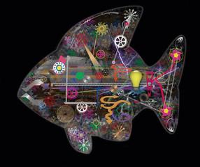 pesce automa