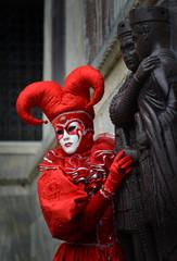 costume fou carnaval de Venise