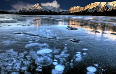 Abraham Lake Winter Fotomurales