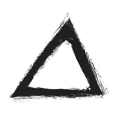 triangle logo shape, illustration