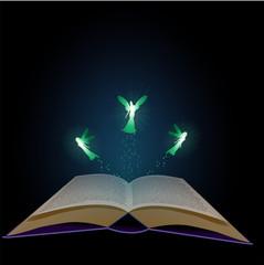 Märchenbuch mit Feen