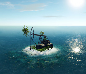 Island Oil Pump