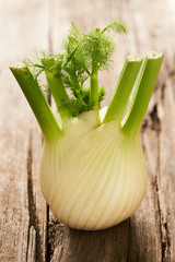 Fresh and tasty fennel