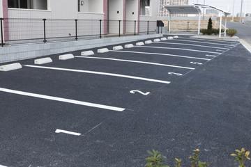 住宅 駐車場 アパート 共同住宅 イメージ