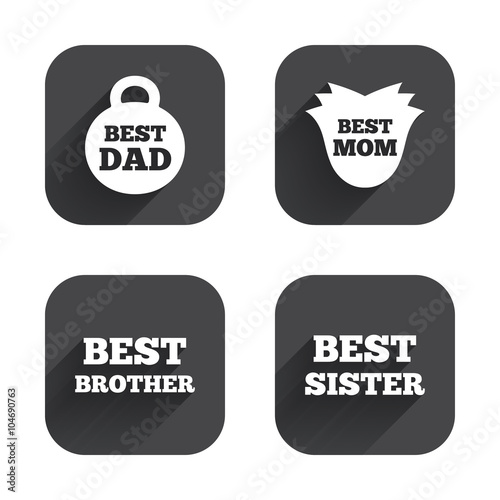 Best Mom And Dad Brother And Sister Icons Weight And Flower Signs