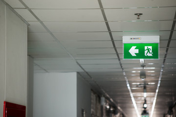 Fire exit way concept