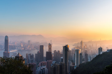 Hong Kong at Dawn