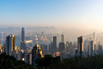 Hong Kong at Dawn