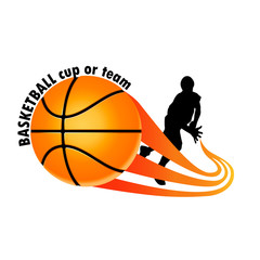 logo for a basketball team