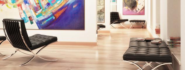 Modern Galerie Design