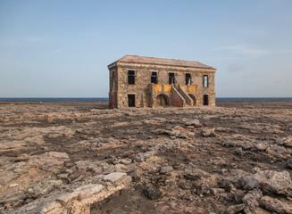 old Lighthouse carribean beach Bonaire island