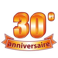 30ème anniversaire.