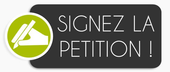 Etiquette: Signez la pétition ! Fototapete