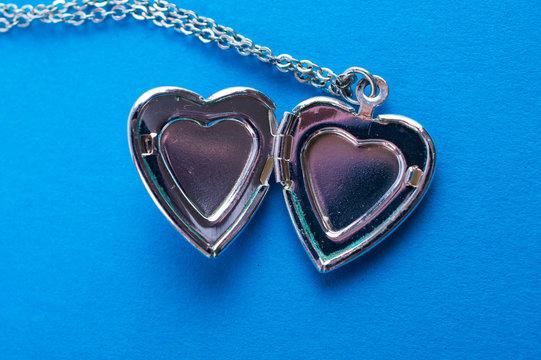 blue heart pendant jewelry