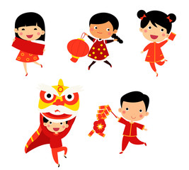chinese new year greetings children buy this stock vector and explore similar vectors at adobe stock adobe stock