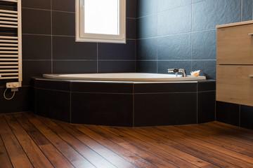 Obraz salle de bain ardoise - fototapety do salonu