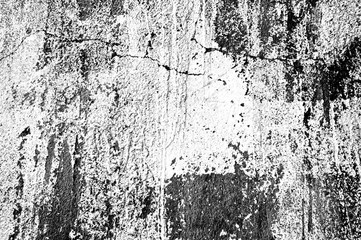 Grunge texture concrete scratched black and white color background cement. High quality. Close up