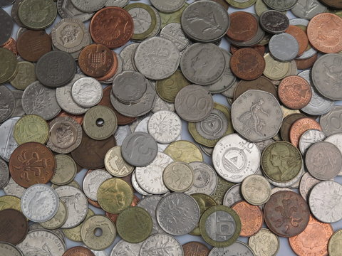 Coins before euro