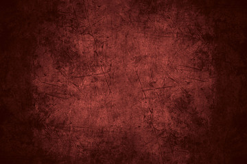 red scratched metal texture