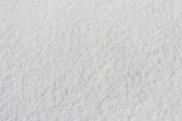 snowy crust, white background