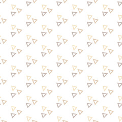 Seamless Colorful Abstract Pattern from Repetitive Triangles