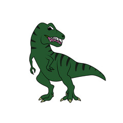 Tyrannosarus or T-rex dinosaur