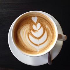 Kawa. Śniadanie. Filiżanka kawy.