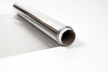 aluminium gray foil