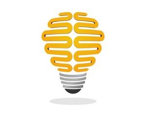 Brain Think Creative Bulb