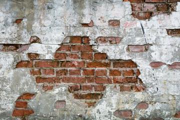 Fototapeta Stara cegła - ściana, mur