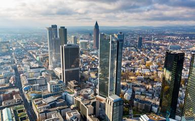 frankfurt aerial view