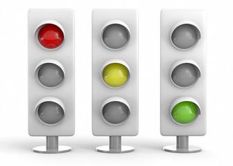 Traffic Light - 3D