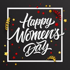 Happy Women Day Inscription 5