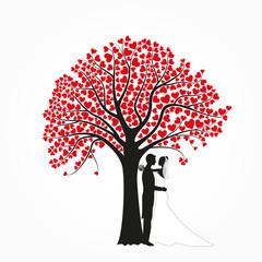 Einladungskarte Baum